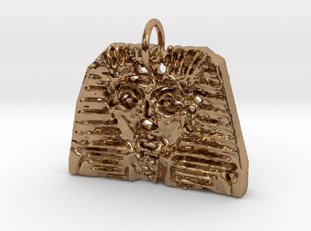 Tut Ankh Amem in Polished Brass