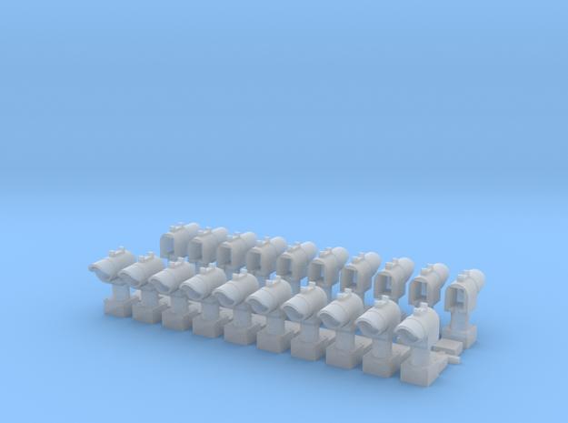 Dwarf Signals, set of 20 in Smoothest Fine Detail Plastic