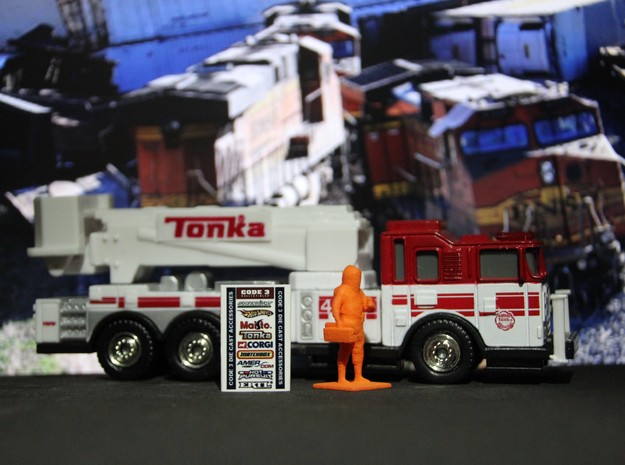 Level A Hazmat Technician w/ Toolbox n Meter, 1/64 in Orange Processed Versatile Plastic