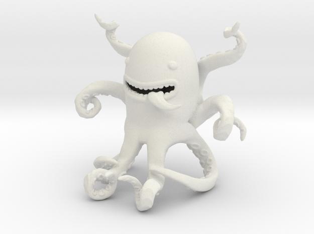 Octopus 60e in White Natural Versatile Plastic
