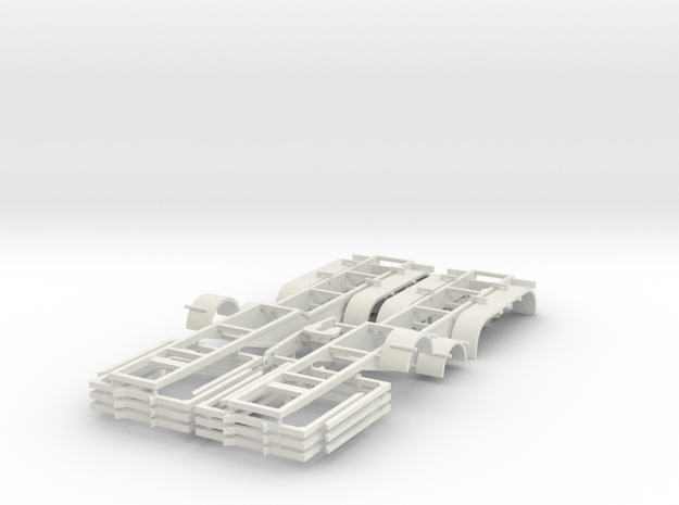 000435 Load 6 X 3m long wood in White Natural Versatile Plastic