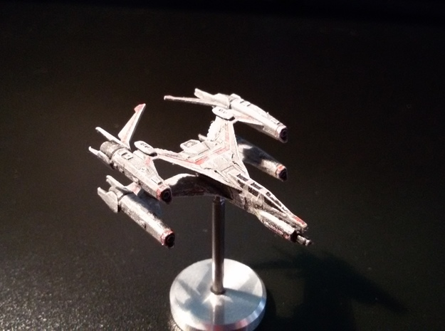 Thunderbolt MKII Space Config in Smooth Fine Detail Plastic