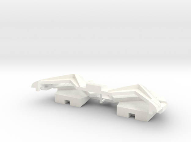05 Thrusters in White Processed Versatile Plastic