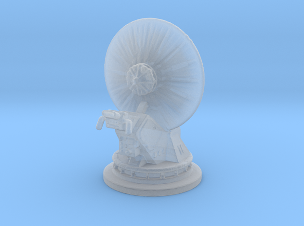 Dish Turret 1:270 in Smooth Fine Detail Plastic