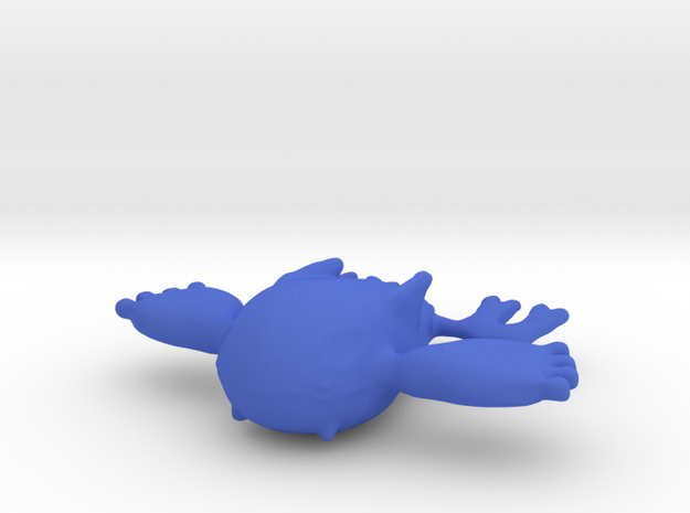 Kyogre in Blue Processed Versatile Plastic