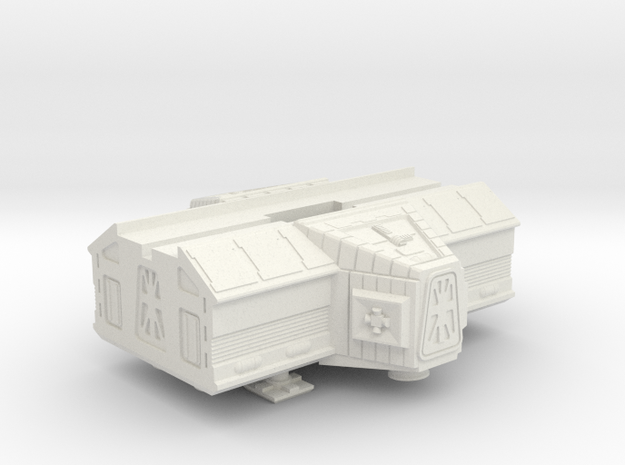 Space 1999 Laboratory Pod For Konami Eagle in White Natural Versatile Plastic