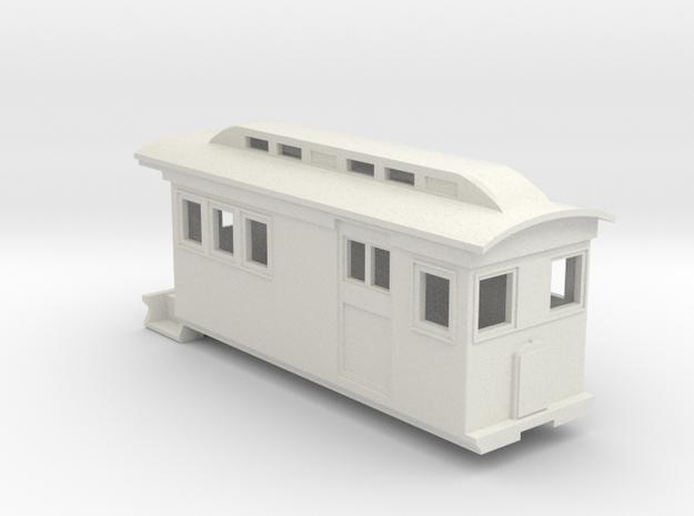 HOn30/OO9 Doodlebug/Railmotor (Megan 1) in White Strong & Flexible