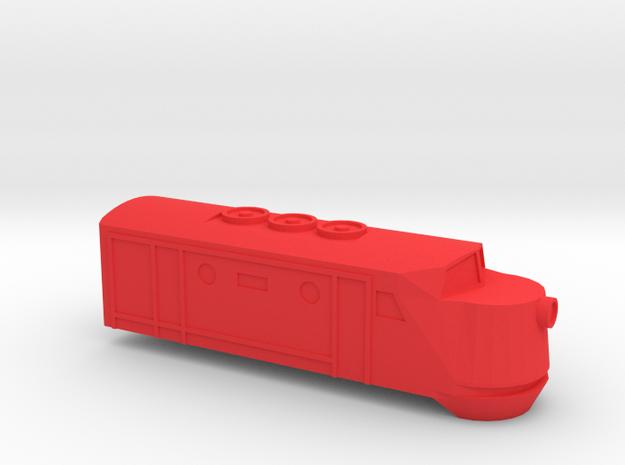 Red Engine - Kato 11-105 in Red Processed Versatile Plastic