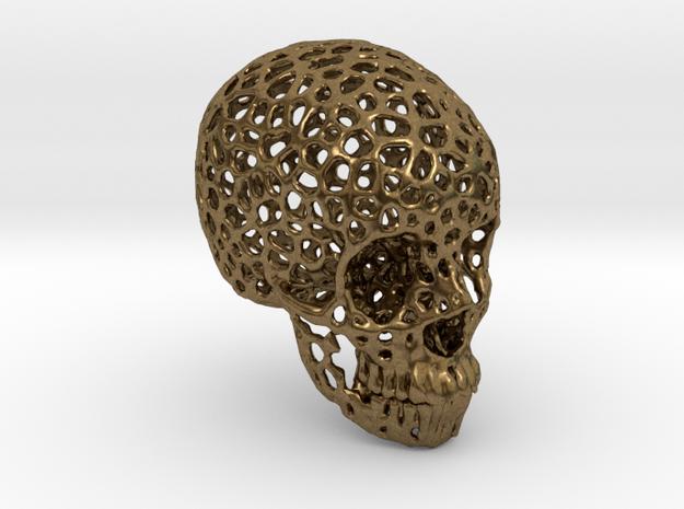 Voronoi Human Skull