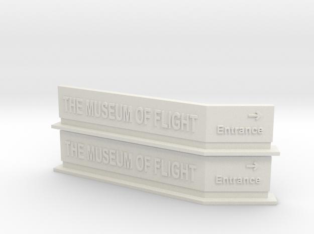 MOF Sign(2)[72-1] in White Natural Versatile Plastic