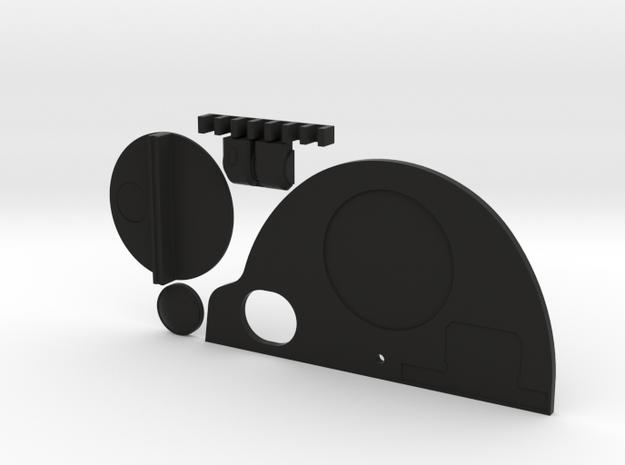 Tank Top Kit in Black Natural Versatile Plastic