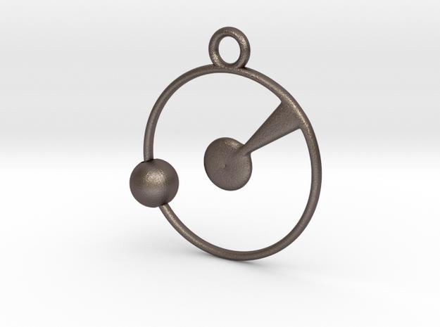 Orbit Pendant in Stainless Steel
