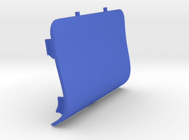 Front-Left Saab Jack Point Cover in Blue Strong & Flexible Polished