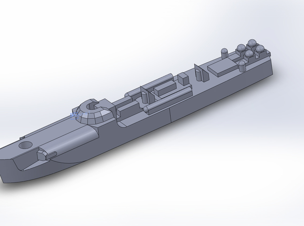 Schnellboote / E-Boats 1/1800 3d printed
