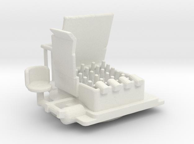 HedgeHog Mk 14 Mod 1/144 in White Strong & Flexible