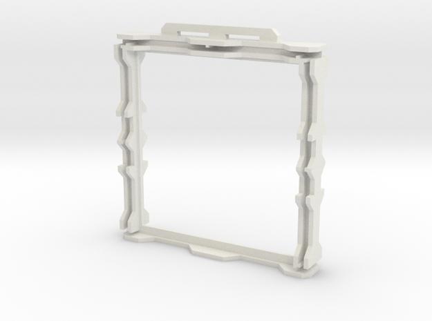 Gen2 DIY BULKHEAD Frame  in White Strong & Flexible
