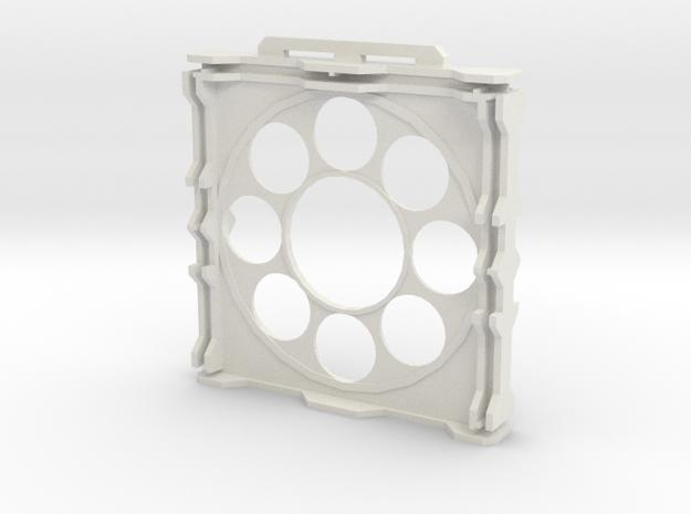 Gen2 BULKHEAD Round Windows in White Natural Versatile Plastic