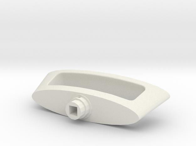 Novoferm Garage Door Handle in White Strong & Flexible