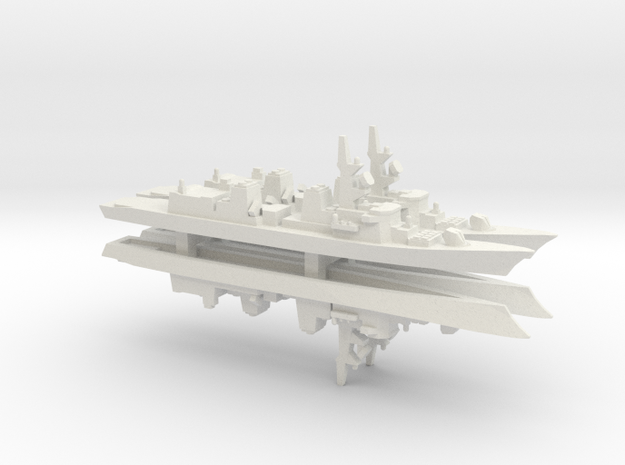Takanami-class destroyer x 4, 1/2400 in White Natural Versatile Plastic