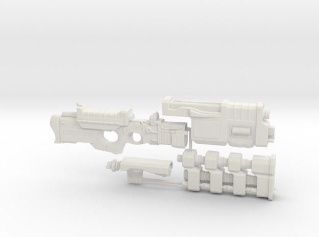 1/6th scale Railgun Extended (4 part kit)