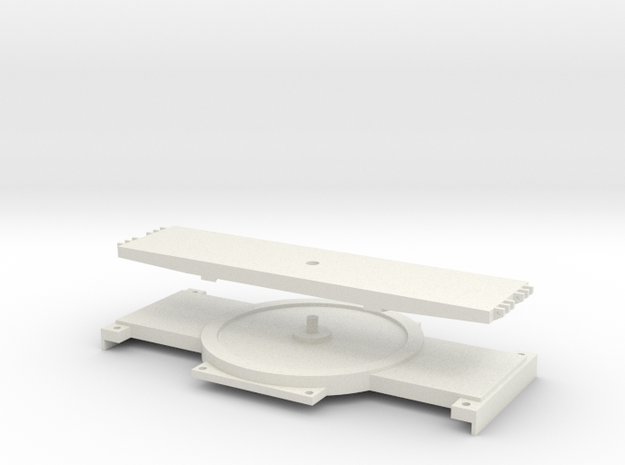 1:50 Turntable for SPMT (IMC) in White Natural Versatile Plastic