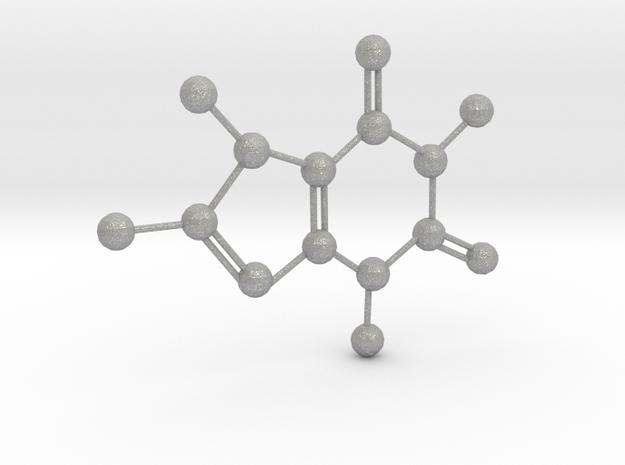 Caffeine in Raw Aluminum