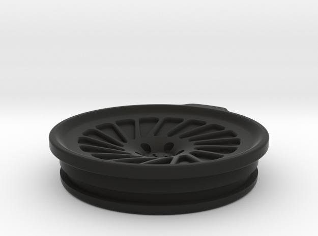 Vossen LC106 30oz Yeti Cup Lid Sealed in Black Natural Versatile Plastic