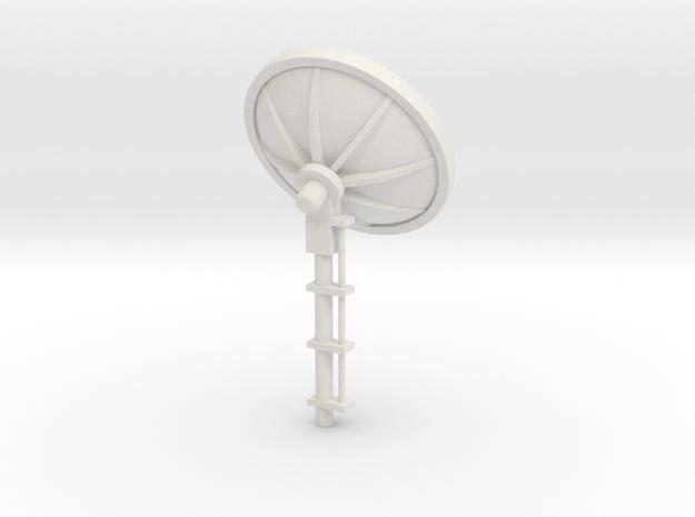 MOF Satellite Dish [72-1] in White Natural Versatile Plastic
