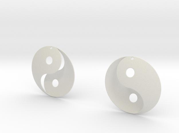 Yin Yang Earrings (B)