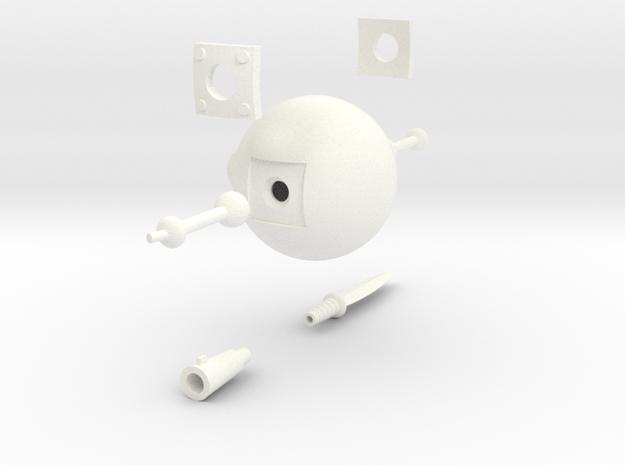 Training Robot (Cartoon) 3d printed