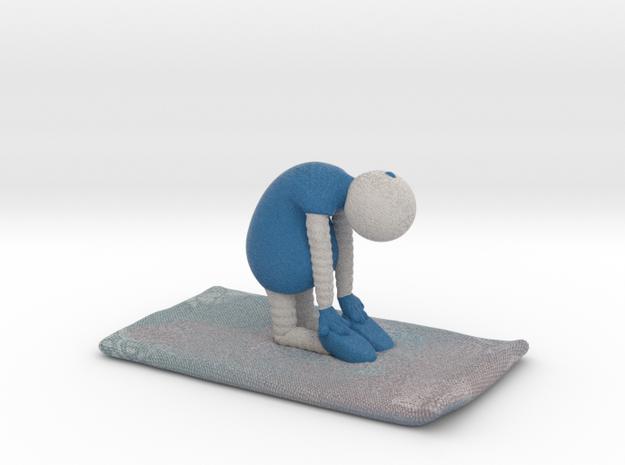 Yoga Pose 5 - 1029N in Full Color Sandstone