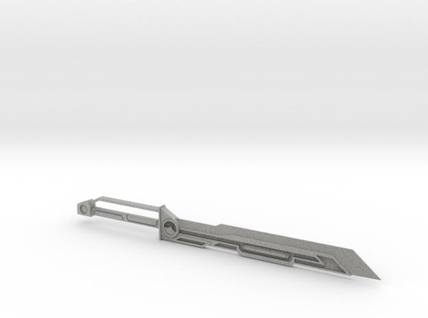 Prime Sword in Metallic Plastic
