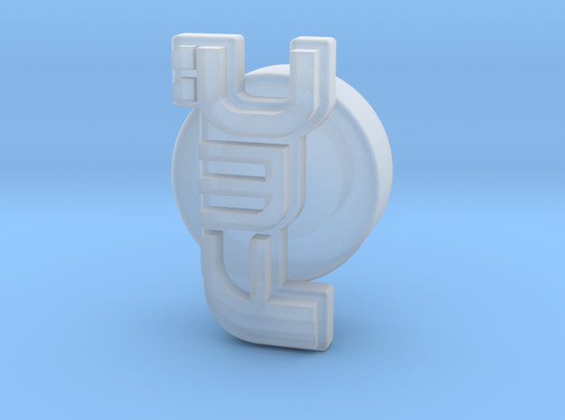 Future Warlord's Coin in Smooth Fine Detail Plastic