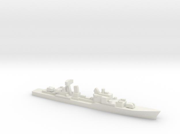 Friesland-class destroyer, 1/1800 in White Natural Versatile Plastic