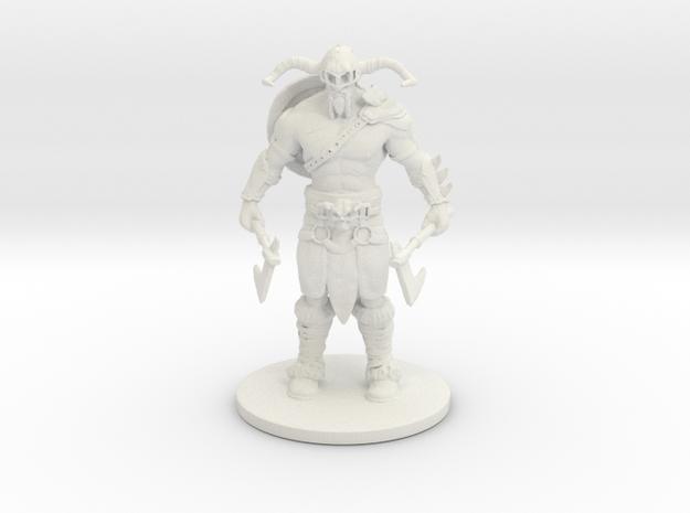 Viking_ Print in White Strong & Flexible