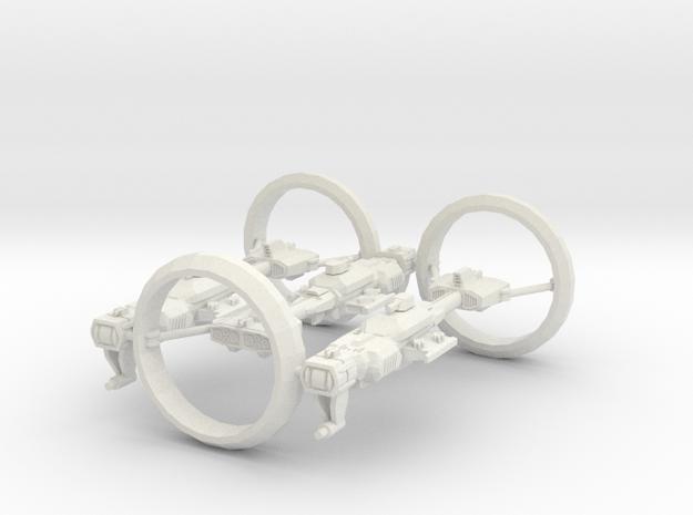 Modulon S1T1 (x3) in White Strong & Flexible