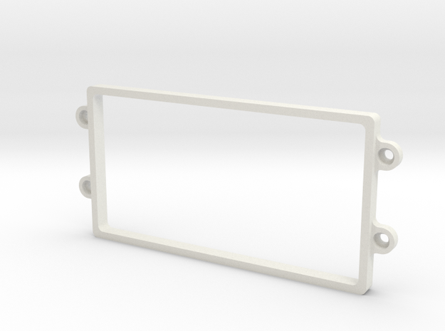 YZ4 Shorty Rack in White Natural Versatile Plastic