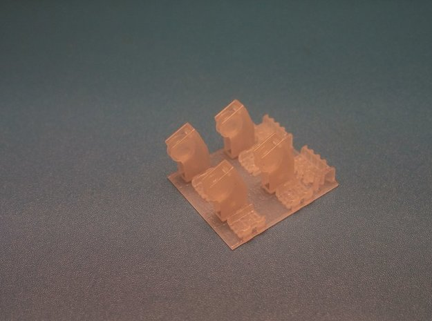 1/35 M113 Ramp Pulley MSP35-009 in Smooth Fine Detail Plastic