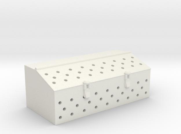 1/16 Hetzer Tool Box (Early) in White Natural Versatile Plastic