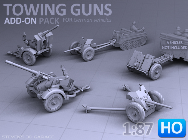 Towing Guns - (H0)