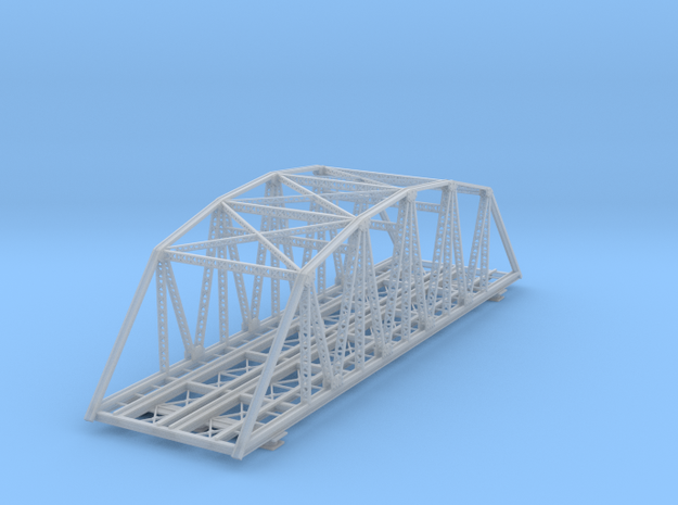 120ft Double Track Truss Bridge Z Scale