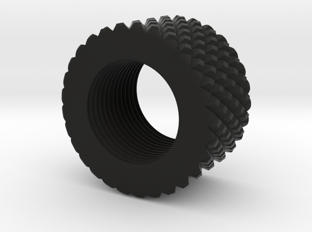 Thread Protector (Type 2) in Black Strong & Flexible