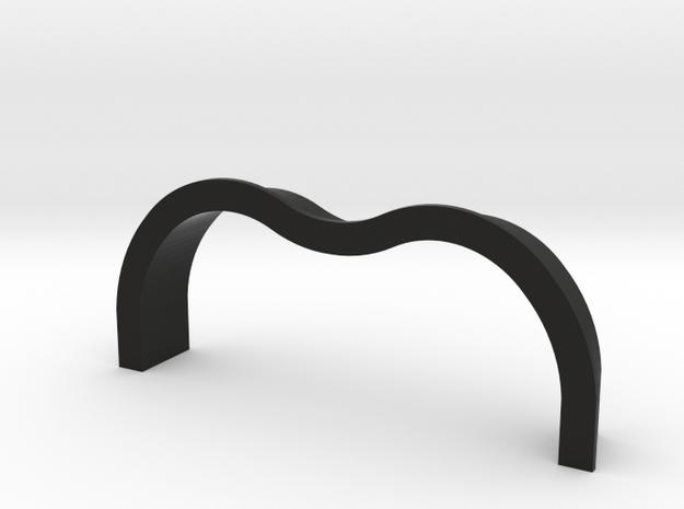 TK&A Grommet Curved Flange in Black Strong & Flexible
