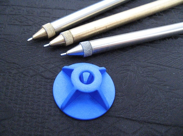 Stand: Exclusive Pen - Classic X in Blue Strong & Flexible Polished