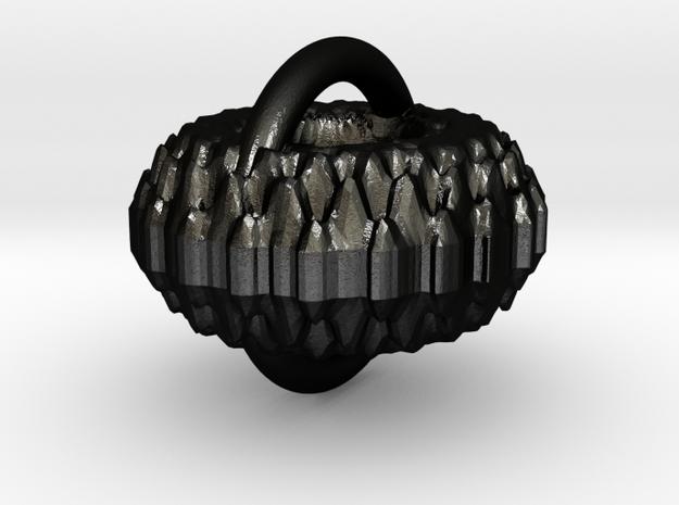 diadem3 in Matte Black Steel