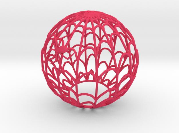 Spiderweb Shadow Tea Light Shade 3d printed