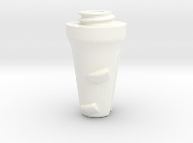 Big Anchor - Coralok in White Processed Versatile Plastic