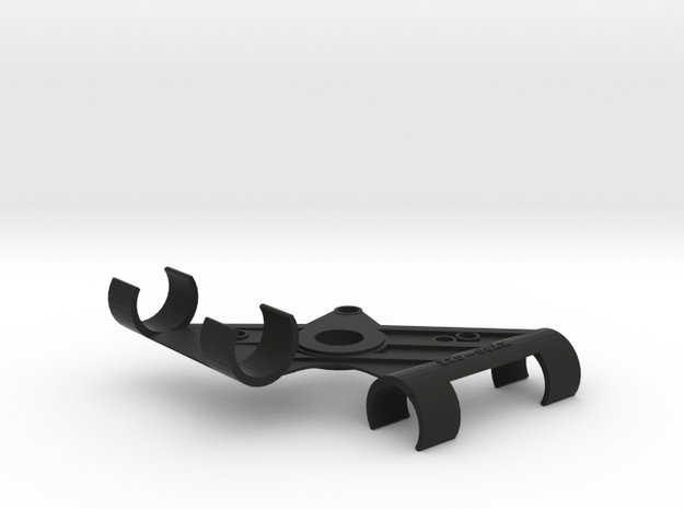 XY Stereo Mic Clip 22mm in Black Strong & Flexible