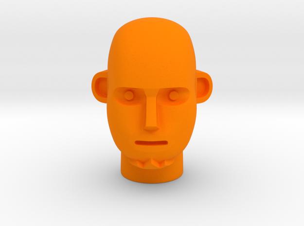 Break Head in Orange Processed Versatile Plastic