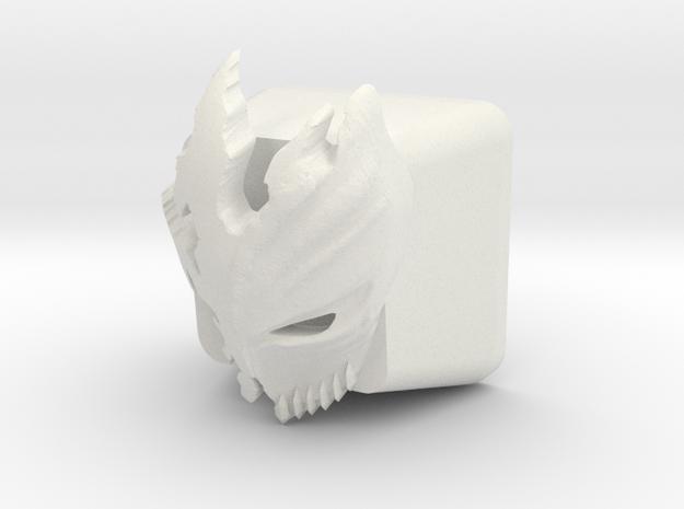 Topre Kurosaki Keycap in White Natural Versatile Plastic